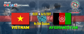 Asian Cup 2019: Việt Nam vs Afghanistan