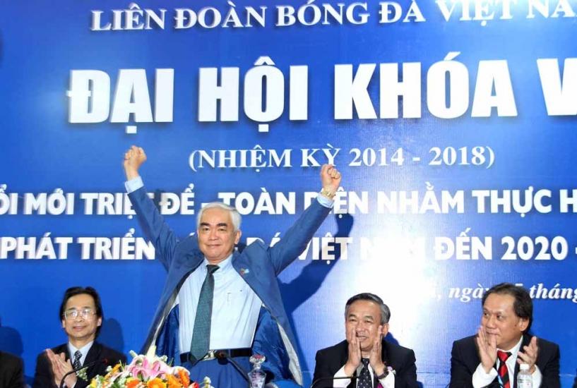 Các chức danh chủ chốt trúng cử tại Đại hội LĐBĐVN khóa VII