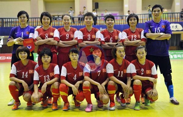 Đội tuyển Futsal nữ Việt Nam