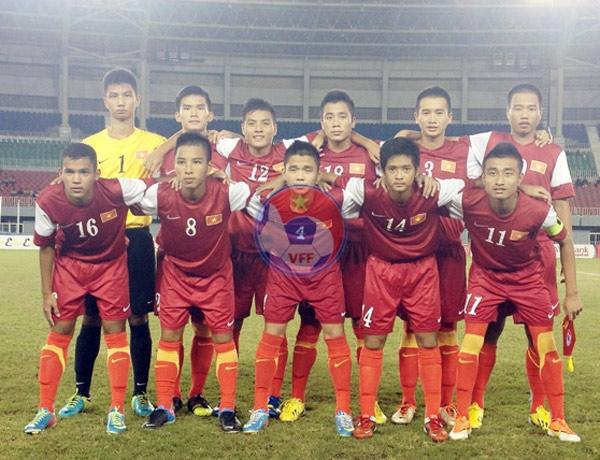 Đội tuyển U16 Nam Việt Nam tập luyện và thi đấu giải U16 ĐNÁ 2013