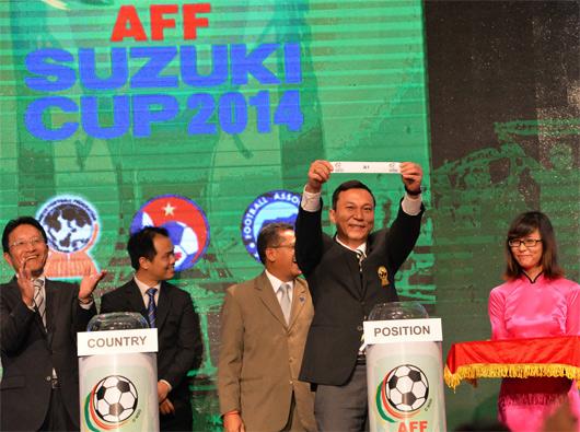 Lễ bốc thăm và xếp lịch thi đấu AFF Suzuki Cup 2014