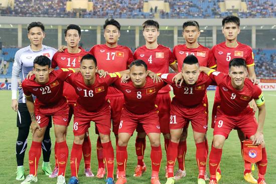 Chùm ảnh đội tuyển Việt Nam gặp đội tuyển Iraq