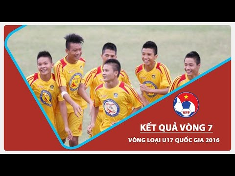 VÒNG LOẠI U17 QG 2016: NHỮNG CƠN MƯA BÀN THẮNG