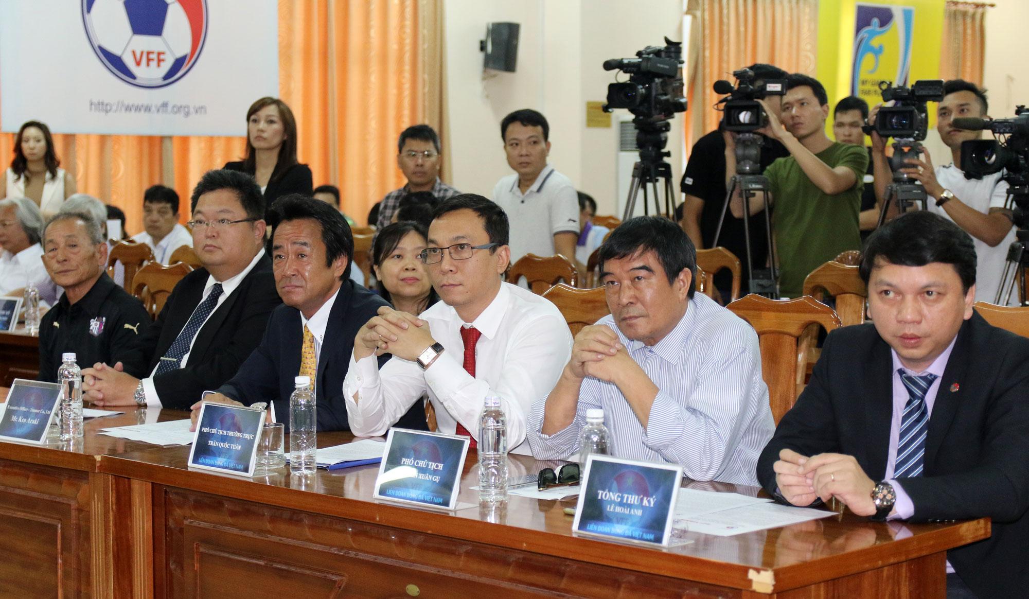 Yanmar tiếp tục là Nhà tài trợ chính cho Đội tuyển Quốc gia Việt Nam