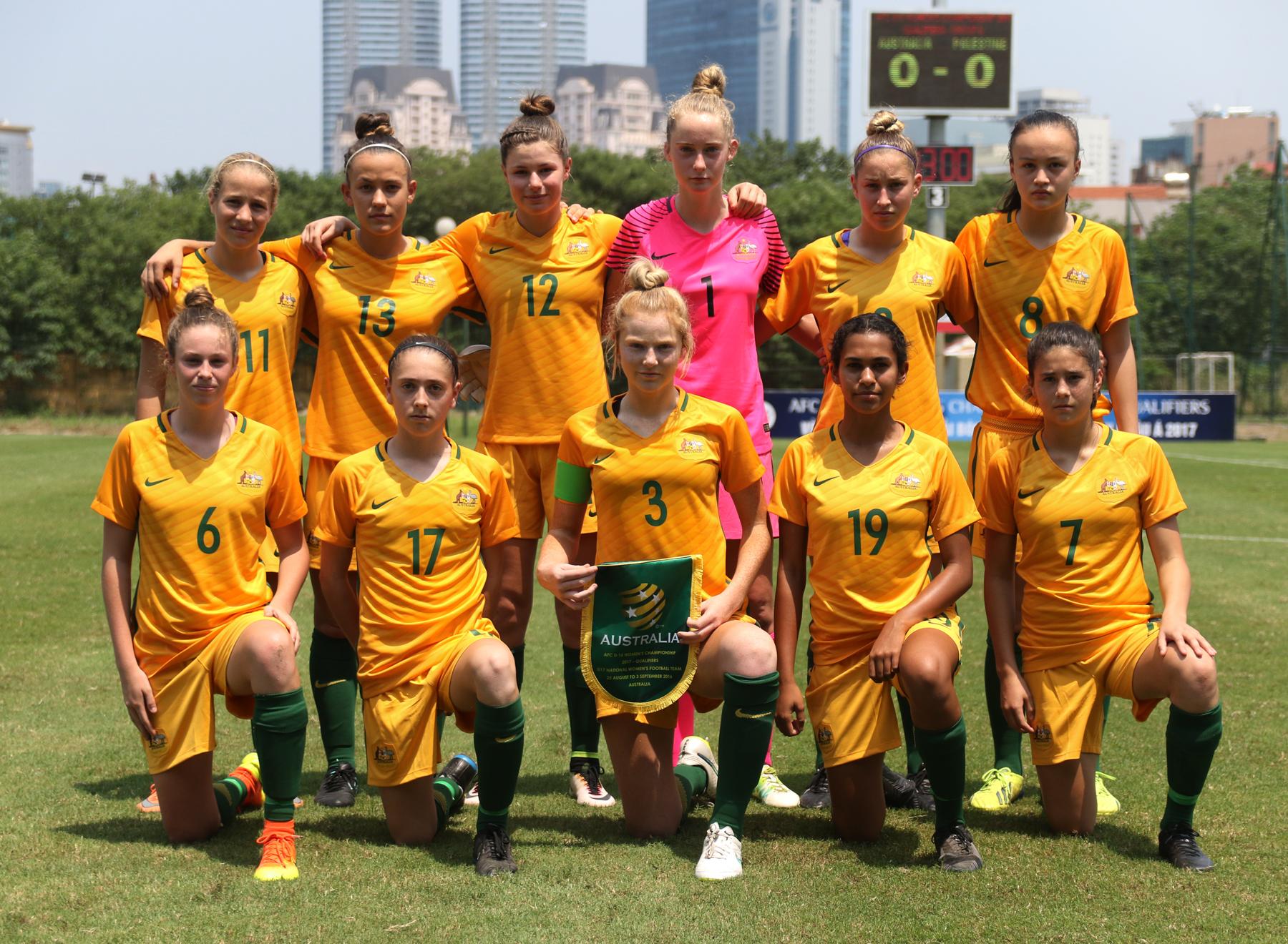 Một số hình ảnh tại vòng loại bảng D giải U16 nữ châu Á 2017 ngày 25-7