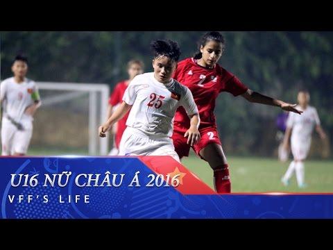 VÒNG LOẠI U16 NỮ CHÂU Á 2017: VIỆT NAM QUYẾT ĐẤU VỚI AUSTRALIA