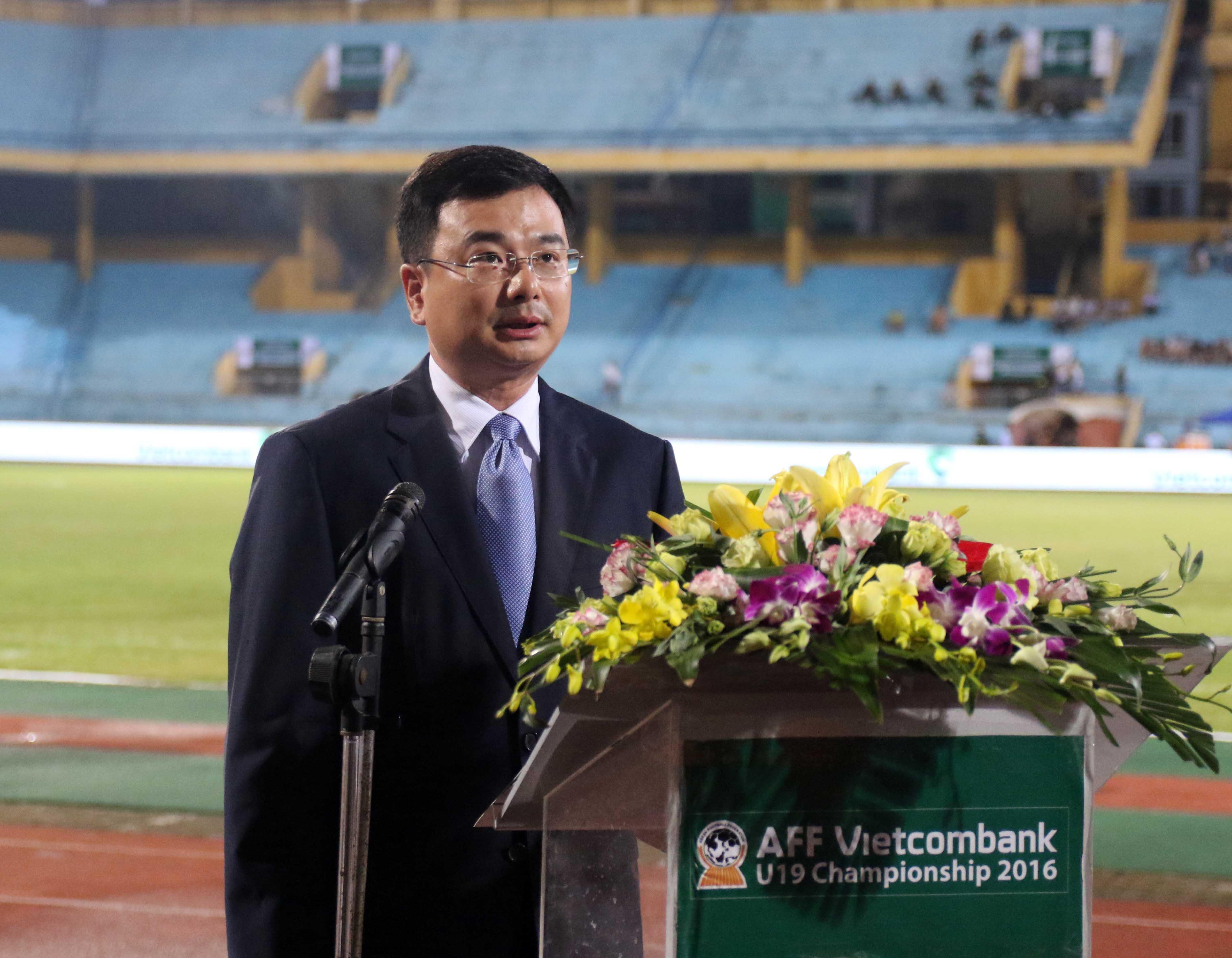 Những hình ảnh tại Lễ khai mạc và trận ra quân của U19 Việt Nam AFF Vietcombank U19 Championship 201