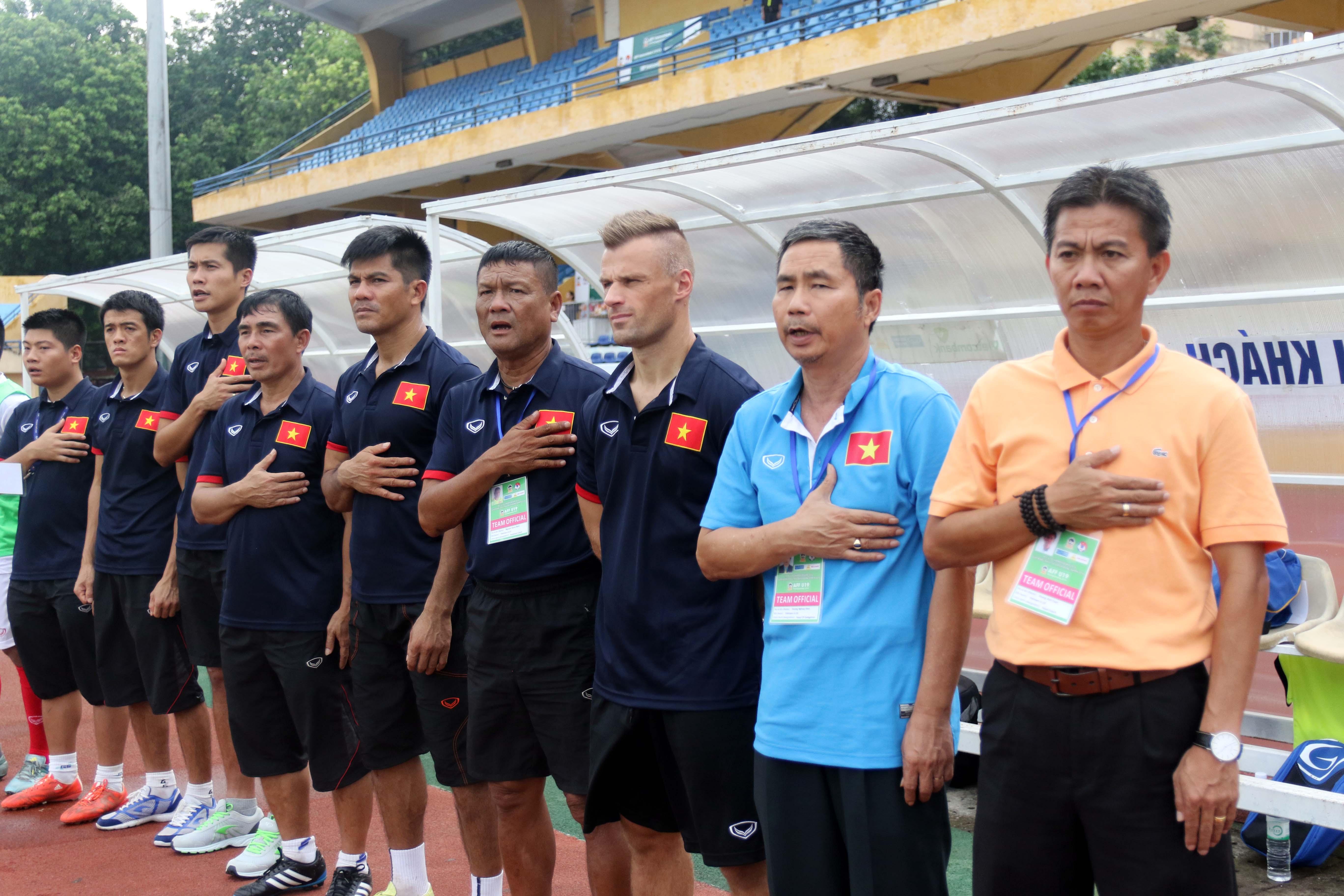 Album ảnh trận tranh hạng ba giữa đội tuyển U19 Vietnam - U19 Timor Leste tại giải bóng đá U19 AFF c