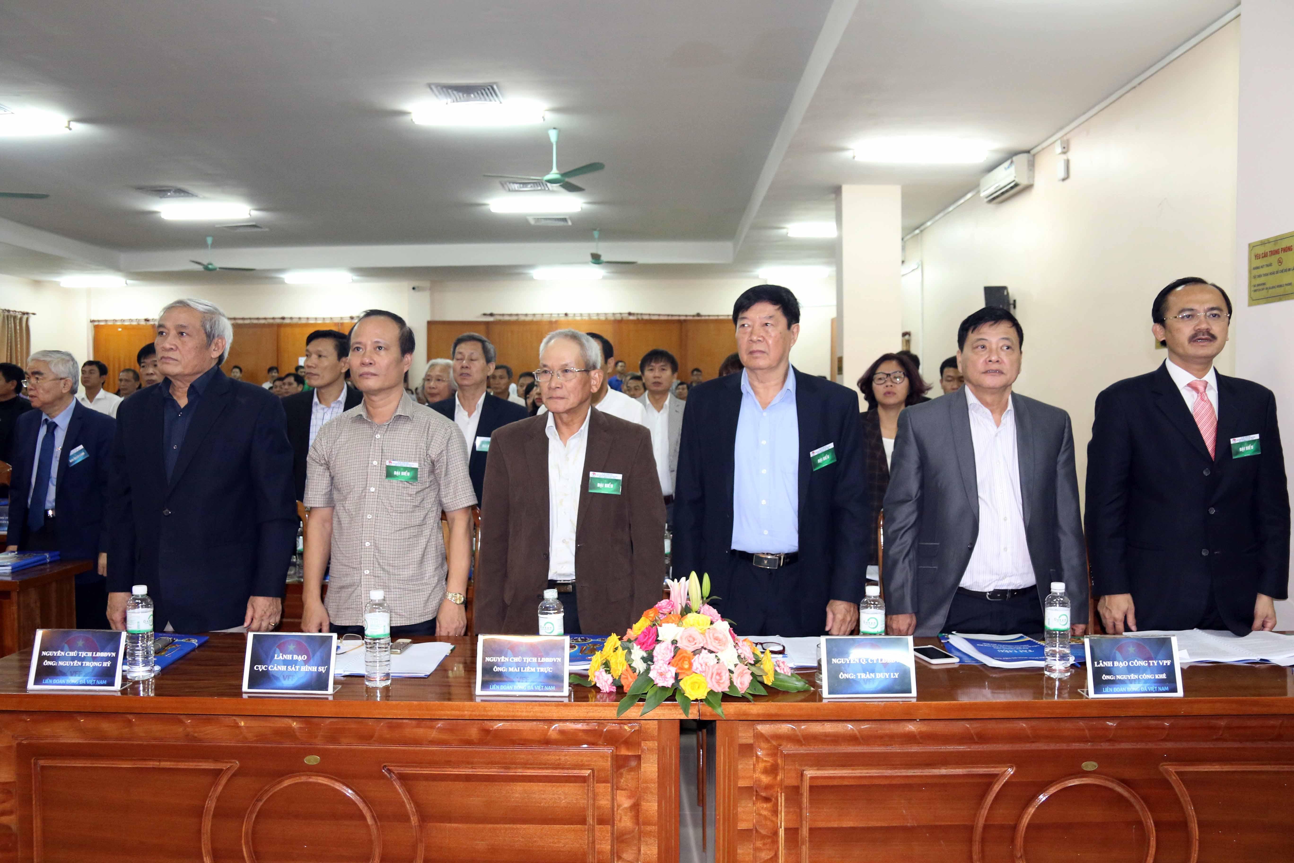 Đại Hội Thường Niên Liên đoàn Bóng đá Việt Nam năm 2016