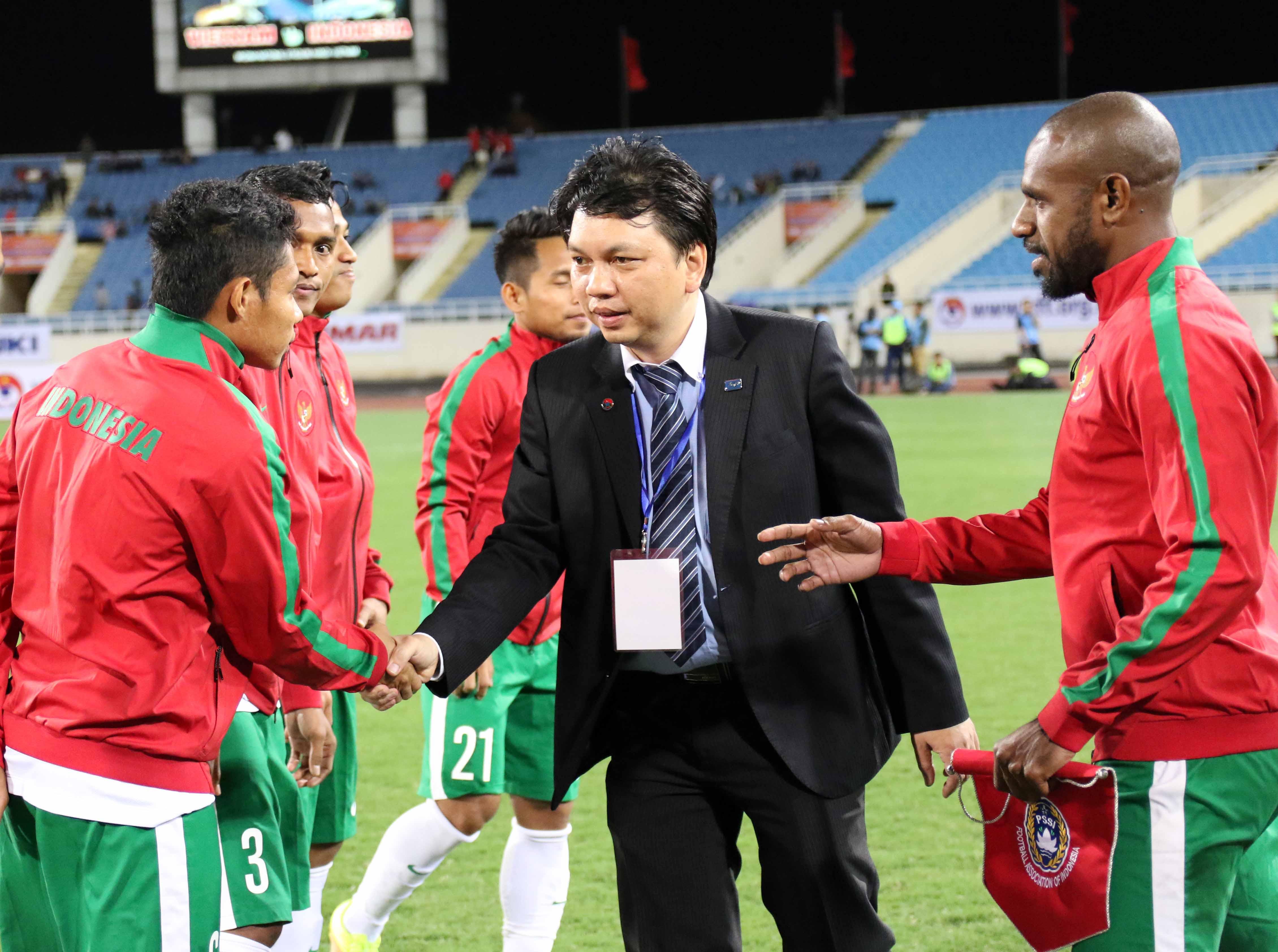 Chùm ảnh trận đấu giao hữu giữa đội tuyển Việt Nam - Indonesia trên sân vận động Quốc Gia Mỹ Đình