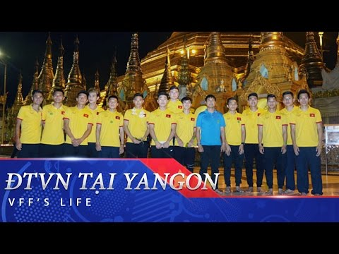 ĐTVN THĂM CHÙA VÀNG SHWEDAGON - MYANMAR