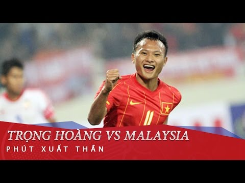 TRỌNG HOÀNG MANG VỀ CHIẾN THẮNG THỨ 2 CHO VIỆT NAM TẠI AFF CUP 2016