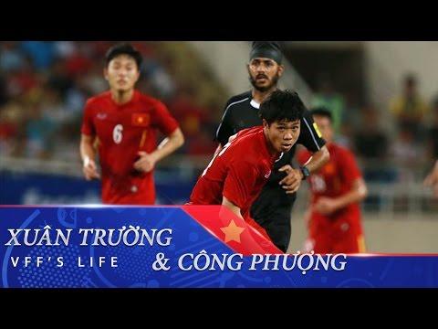 XUÂN TRƯỜNG & CÔNG PHƯỢNG VS MALAYSIA | AFF CUP 2016