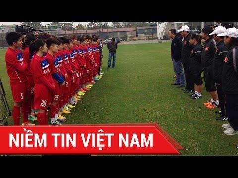 ĐỘI TUYỂN BÓNG ĐÁ NỮ VIỆT NAM HỘI QUÂN CHUẨN BỊ VÒNG LOẠI ASIAN CUP 2018