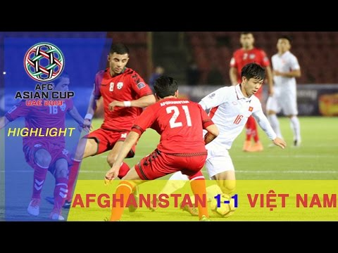 HIGHLIGHT | VIỆT NAM CHIA ĐIỂM VỚI AFGHANISTAN TẠI LƯỢT TRẬN ĐẦU TIÊN VÒNG LOẠI ASIAN CUP 2019