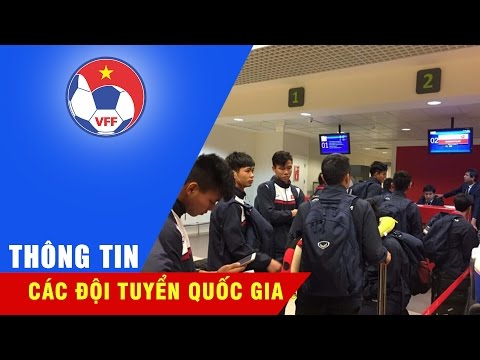 HÀNH TRÌNH DI CHUYỂN VẤT VẢ CỦA ĐT VIỆT NAM SAU TRẬN ĐẤU VỚI AFGHANISTAN
