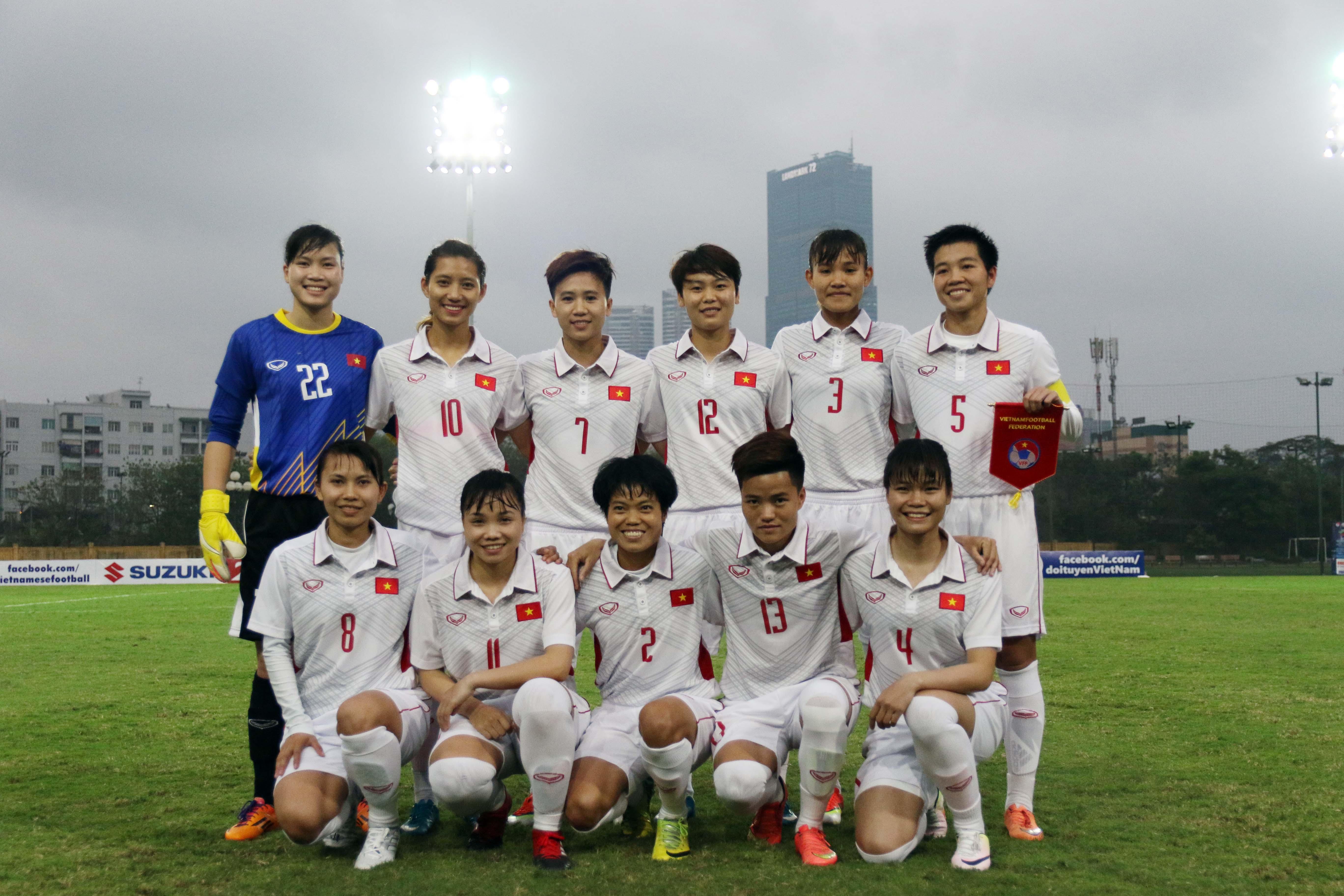 Album ảnh trận Syria - Việt Nam tại vòng loại bảng D giải vô địch Nữ Asian Cup 2018
