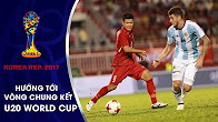 KHOẢNH KHẮC | PHA PHỐI HỢP GHI BÀN ĐẲNG CẤP CỦA U20 VIỆT NAM VÀO LƯỚI U20 ARGENTINA