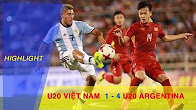 HIGHLIGHT | U20 VIỆT NAM (1-4) U20 ARGENTINA | TRẬN THUA HỮU ÍCH CHO THẦY TRÒ HLV HOÀNG ANH TUẤN