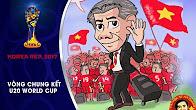 BỨC TRANH ĐẦY CẢM XÚC VỀ U20 VIỆT NAM TẠI SÂN CHƠI WORLD CUP