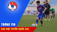 BUỔI TẬP CUỐI CÙNG CỦA ĐT U22 VIỆT NAM VÀ K-LEAGUE ALL STARS TRÊN SVĐ QUỐC GIA MỸ ĐÌNH