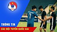 XUÂN TRƯỜNG TAY BẮT MẶT MỪNG KHI TÁI NGỘ CÁC ĐỒNG ĐỘI TẠI GANGWON FC