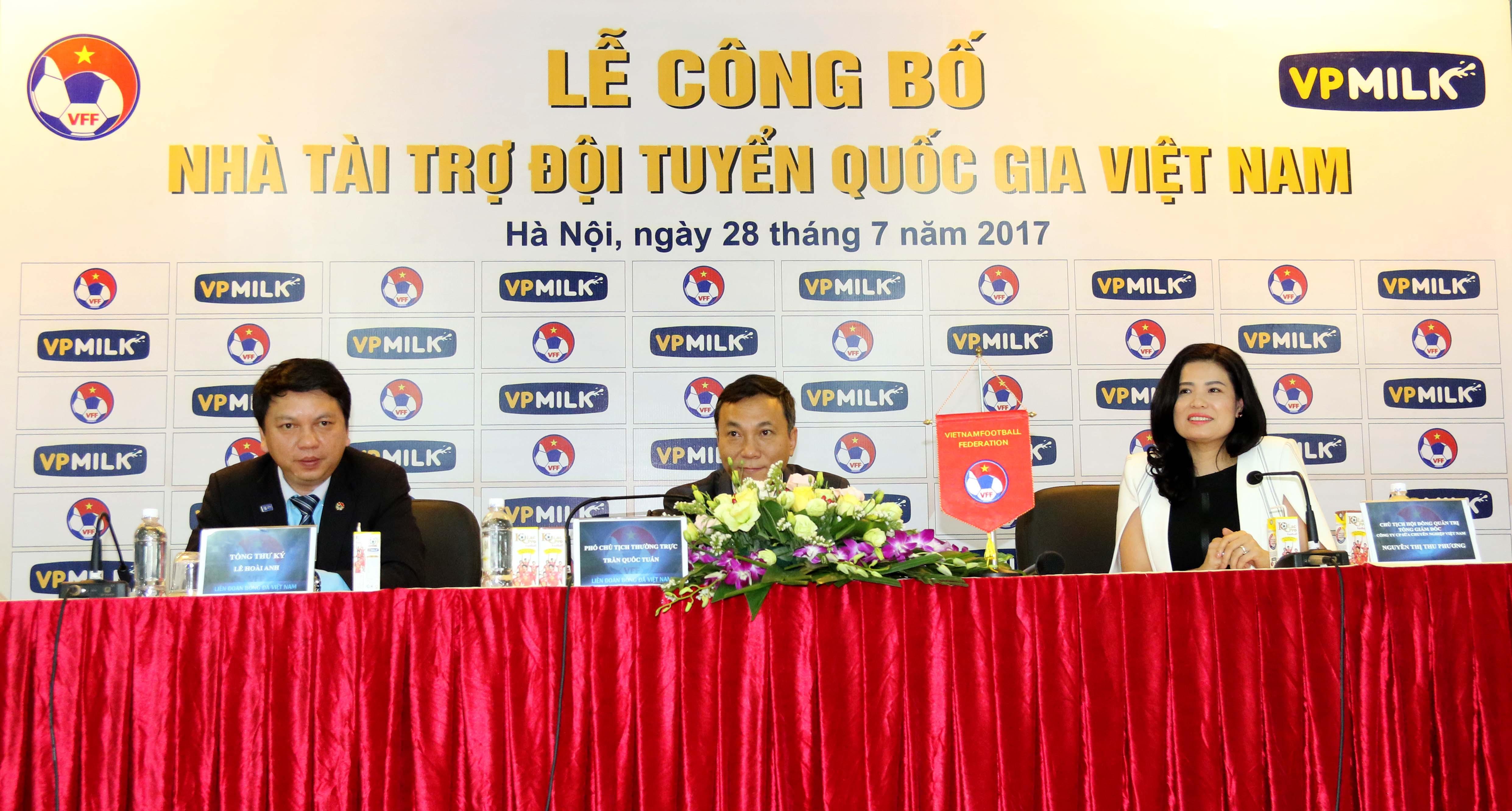 Chùm ảnh VPMilk tiếp thêm sức mạnh cho các đội tuyển quốc gia trước thềm SEA Games 29