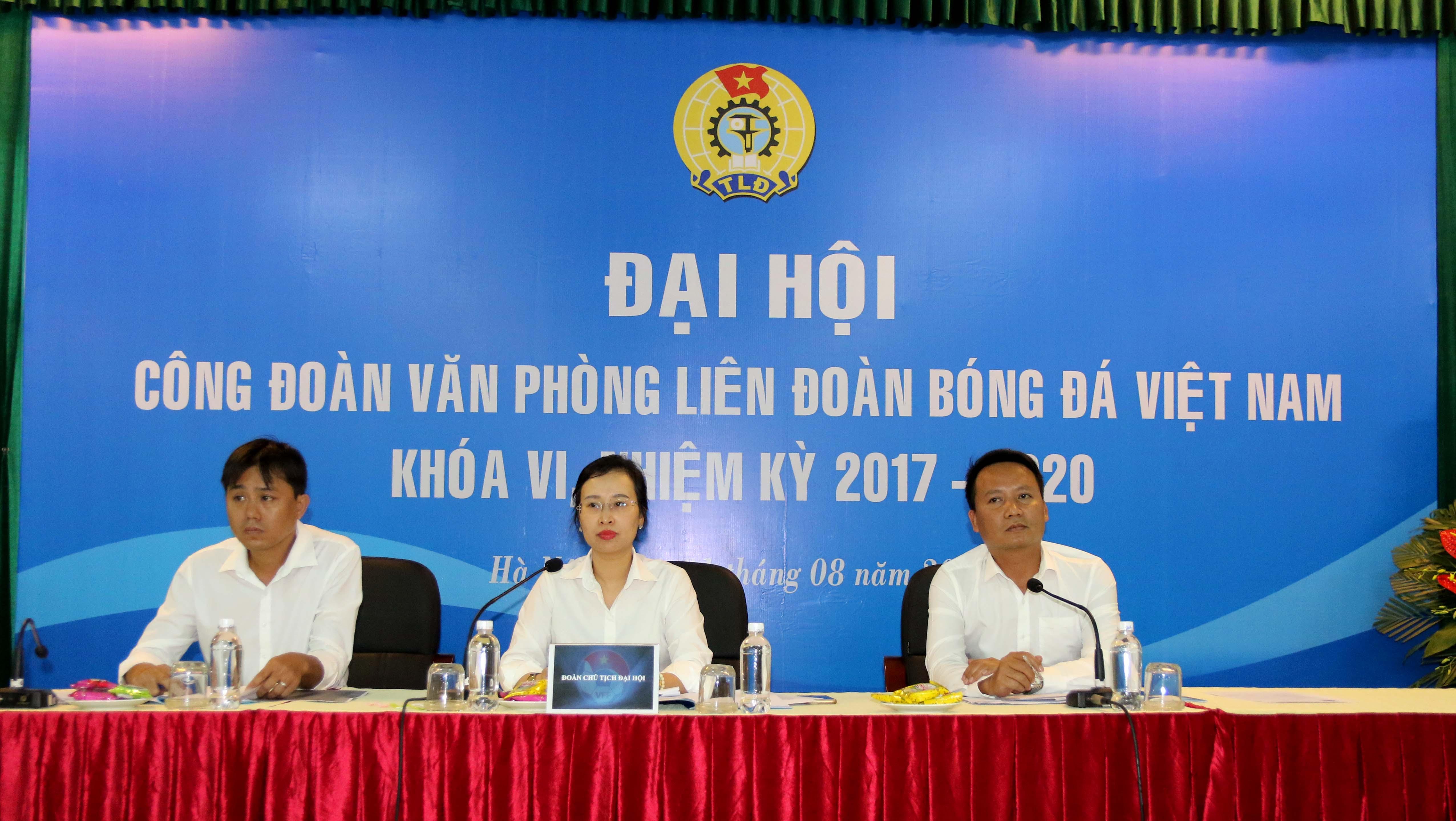 Chùm ảnh Đại hội Công đoàn VP LĐBĐVN lần thứ VI (nhiệm kỳ 2017-2020)