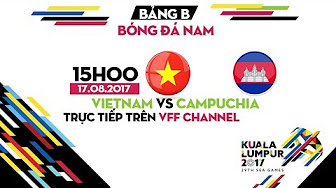 TRỰC TIẾP | U22 VIỆT NAM vs U22 CAMPUCHIA | BẢNG B BÓNG ĐÁ NAM SEA GAMES 29