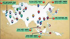 BÓNG ĐÁ VIỆT NAM 2017 | Phát triển bóng đá theo hướng toàn diện và bền vững