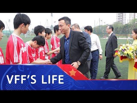 Khai mạc giải giao hữu quốc tế U15 Việt Nam - Nhật Bản 2018