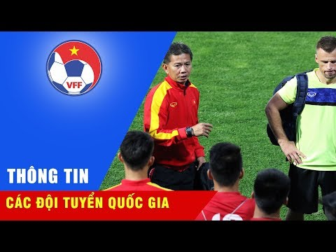 ĐT U19 Việt Nam tập buổi đầu tiên chuẩn bị cho VCK U19 châu Á