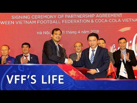 Lễ ký kết hợp tác giữa VFF và Coca Cola Việt Nam | VFF Channel
