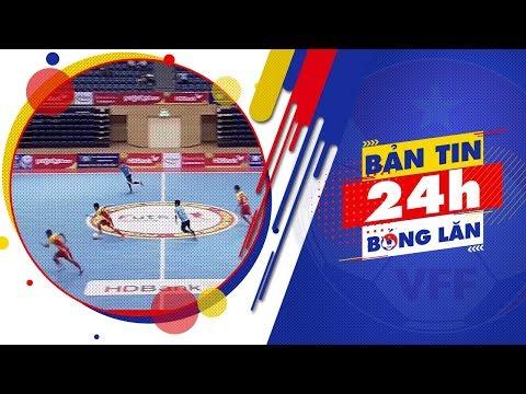 24h BÓNG LĂN SỐ 37 | Sanatech Sanest Khánh Hòa giành ngôi đầu BXH Futsal HD Bank 2018