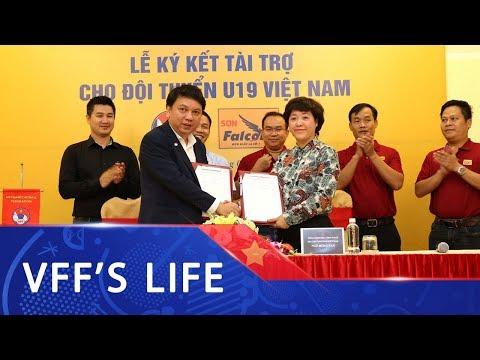 Lễ ký kết và ra mắt nhà tài trợ Đội tuyển U19 Việt Nam