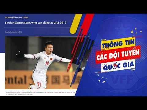 Quang Hải được AFC vinh danh là cậu bé vàng của bóng đá Việt Nam