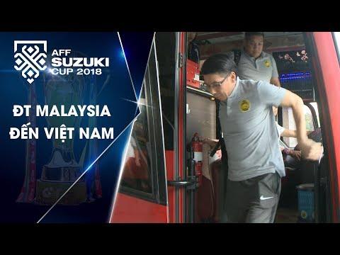 Đội tuyển Malaysia đã tới Việt Nam!