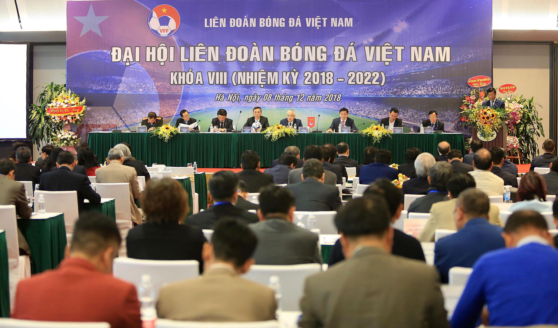 Chùm Ảnh Đại Hội BCH Liên đoàn Bóng đá Việt Nam Khóa VIII (Nhiệm kỳ 2018 - 2022)