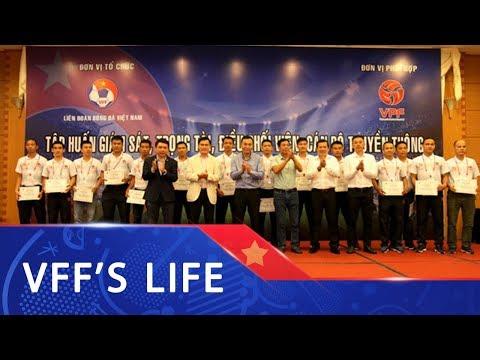 Bế mạc lớp tập huấn giám sát, trọng tài các giải bóng đá chuyên nghiệp Quốc gia 2019