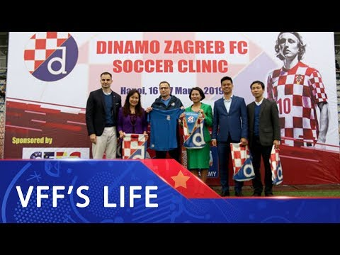 CLB Dinamo Zagreb hướng tới phát triển đào tạo bóng đá trẻ tại Việt Nam