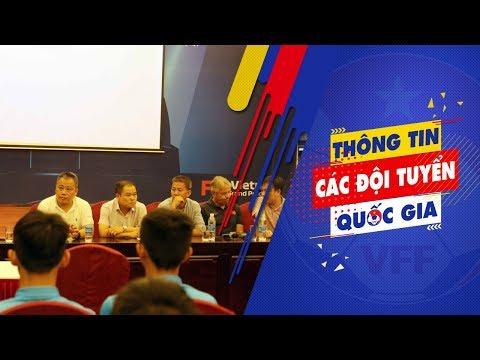 Lãnh đạo VFF thăm và động viên hai đội tuyển U15 và U18 Quốc gia