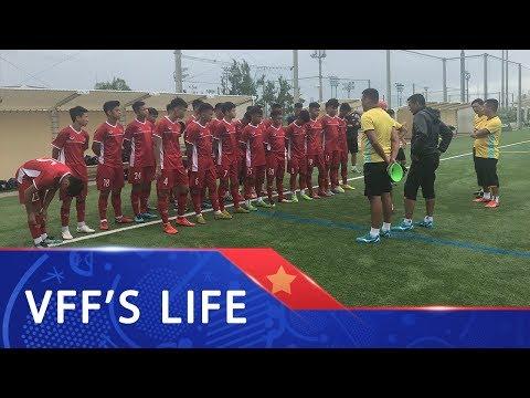 Đấu tập tại Kobe, U15 Việt Nam thử sức với đội trẻ Vissel Kobe