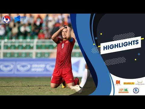 Highlights U18 Việt Nam - U18 Campuchia | AFF U18 Next Media Cup 2019