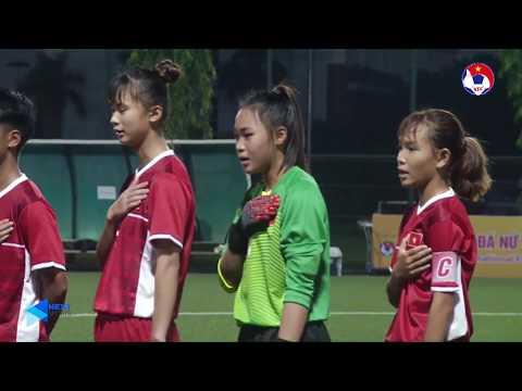 Highlights | U15 Việt Nam - U15 Myanmar | Giải bóng đá U15 Quốc tế 2019