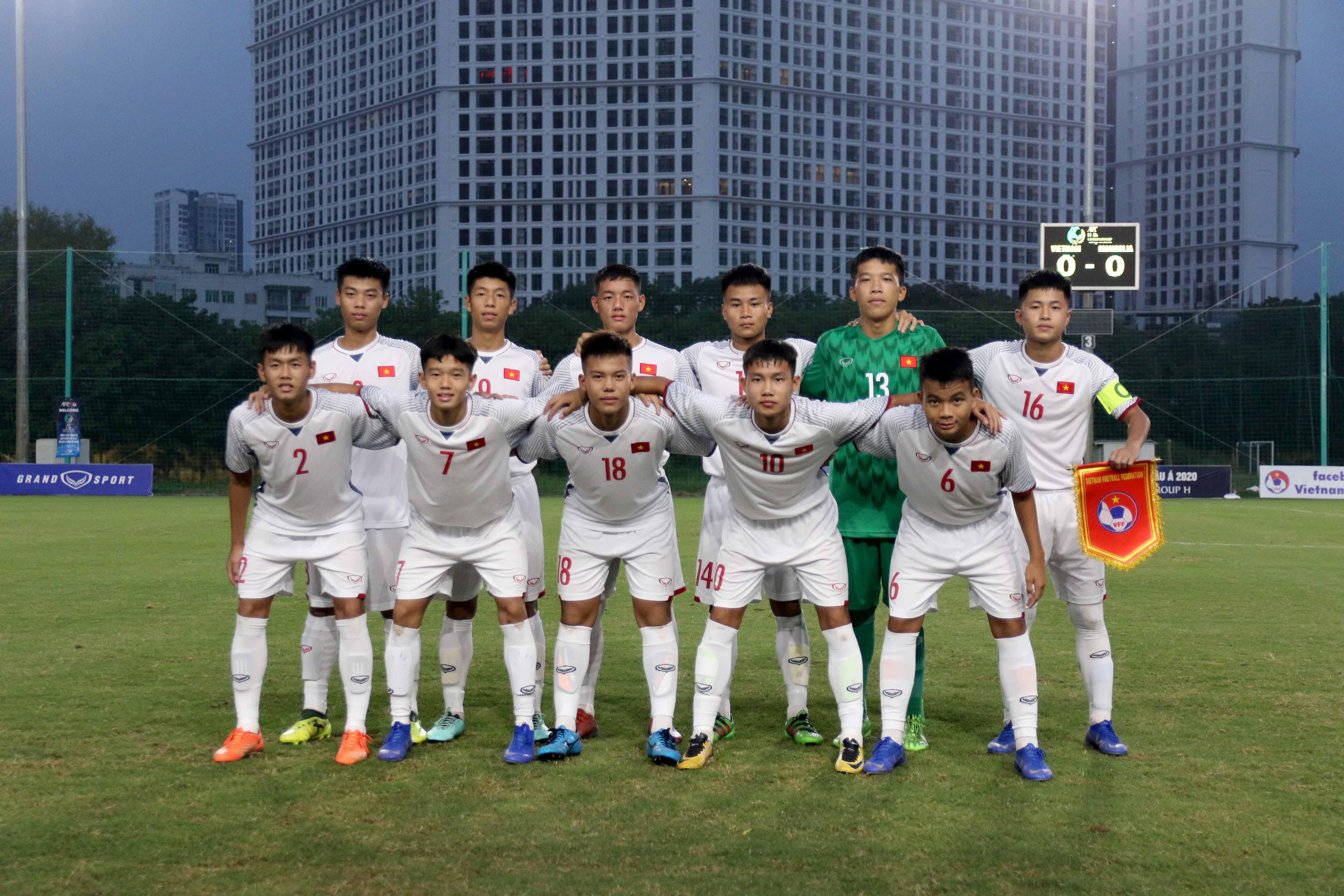Chùm ảnh trận đấu giữa đội tuyển U16 Việt Nam - U16 Mongolia tại vòng loại U16 Châu Á 2020 (Bảng H)
