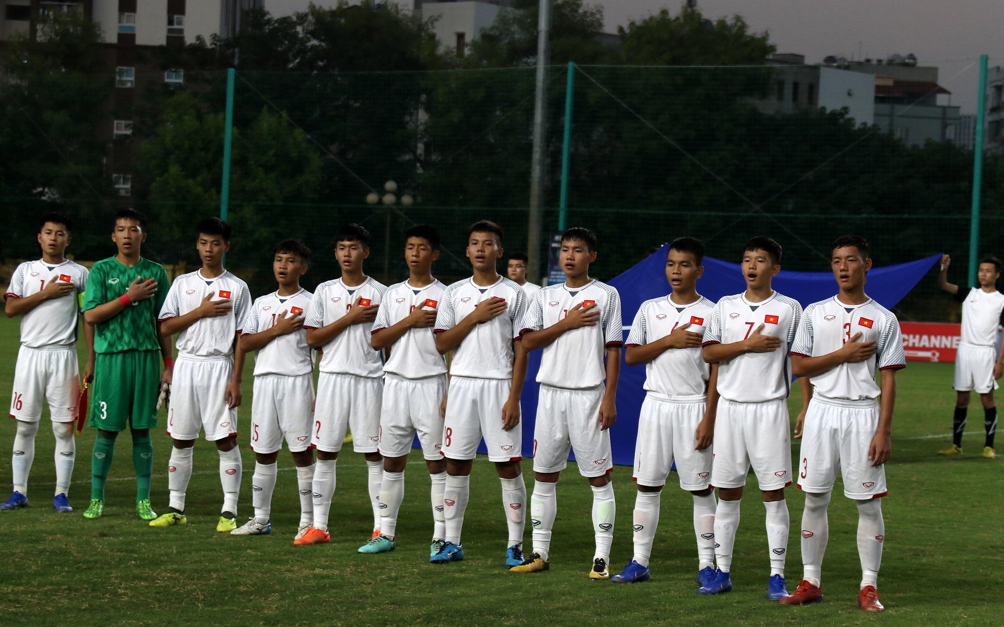 Chùm ảnh trận đấu giữa đội tuyển U16 Việt Nam - U16 Australia tại vòng loại U16 Châu Á 2020 (Bảng H)