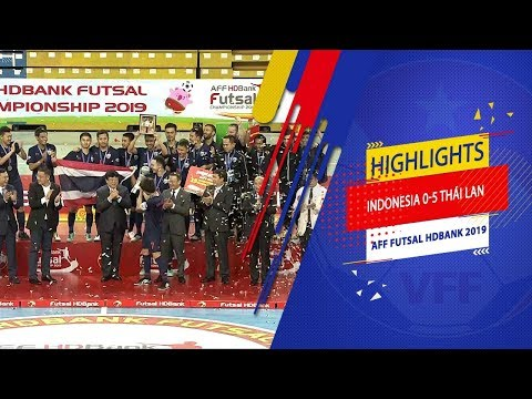 Highlights | Indonesia - Thái Lan | AFF HDBank Futsal Championship 2019