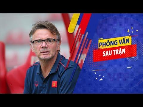 HLV Philippe Troussier hài lòng với chiến thắng của U19 Việt Nam trước U19 Sarajevo