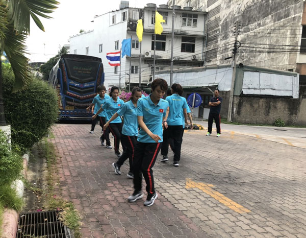 Giải bóng đá nữ Đông Nam Á 2019: ĐT nữ Việt Nam tự tin trước trận mở màn gặp Campuchia - Ảnh 1.