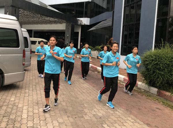 Giải bóng đá nữ Đông Nam Á 2019: ĐT nữ Việt Nam tự tin trước trận mở màn gặp Campuchia - Ảnh 2.